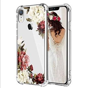 For IPhone XR Floral Protective TPU  Case